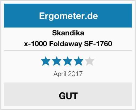 Skandika x-1000 Foldaway SF-1760 Test