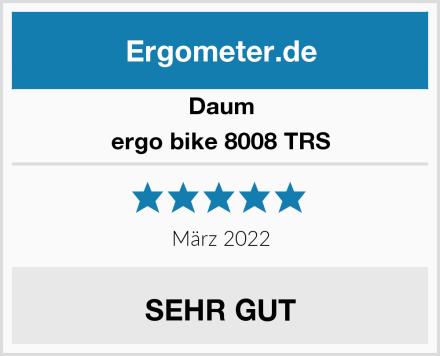 Daum ergo bike 8008 TRS Test