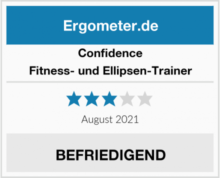 Confidence Fitness- und Ellipsen-Trainer Test