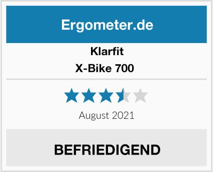 Klarfit X-Bike 700  Test