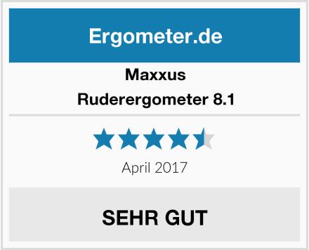 Maxxus Ruderergometer 8.1 Test