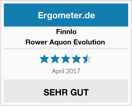 Finnlo Rower Aquon Evolution  Test