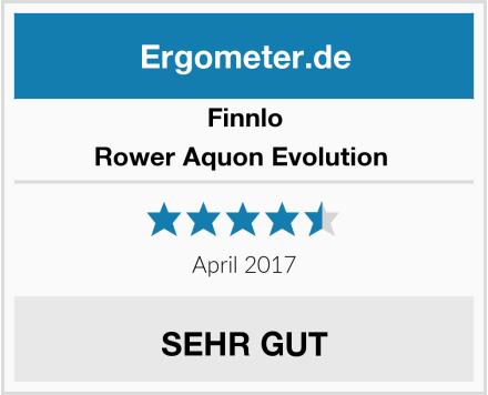 Finnlo Rower Aquon Evolution  Test