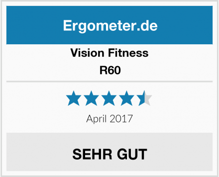 Vision Fitness R60 Test