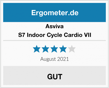 Asviva S7 Indoor Cycle Cardio VII Test