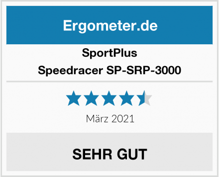SportPlus Speedracer SP-SRP-3000  Test