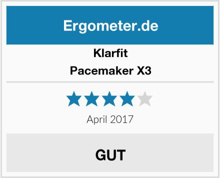 Klarfit Pacemaker X3 Test