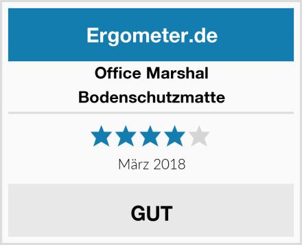 Office Marshal Bodenschutzmatte Test