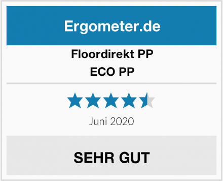 Floordirekt PP ECO PP Test