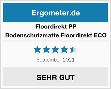 Floordirekt PP Bodenschutzmatte Floordirekt ECO Test