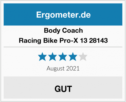 Body Coach Racing Bike Pro-X 13 28143 Test