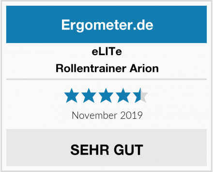 eLITe Rollentrainer Arion Test