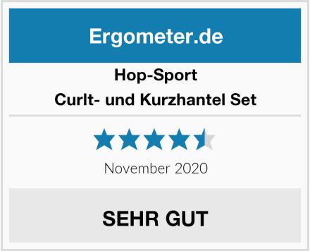 Hop-Sport Curlt- und Kurzhantel Set Test