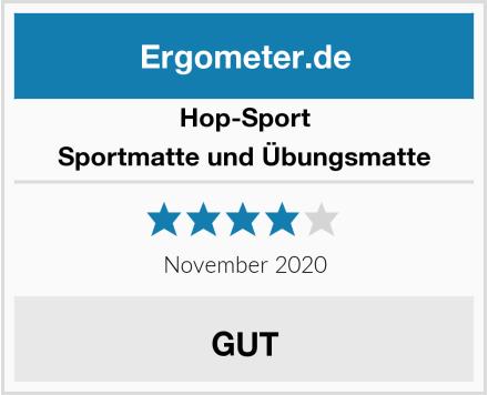 Hop-Sport Sportmatte und Übungsmatte Test
