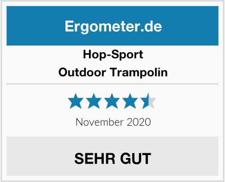 Hop-Sport Outdoor Trampolin Test