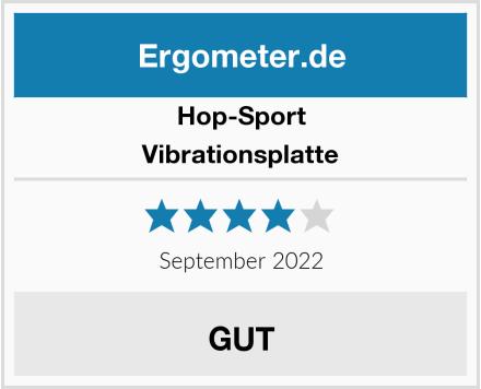 Hop-Sport Vibrationsplatte Test