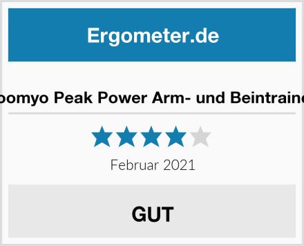 zoomyo Peak Power Arm- und Beintrainer Test