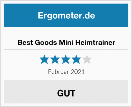 Best Goods Mini Heimtrainer Test