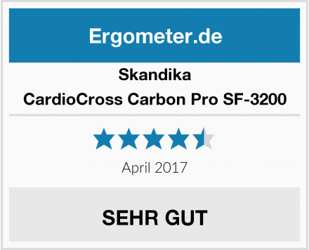 Skandika CardioCross Carbon Pro SF-3200 Test
