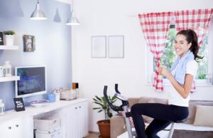 trainieren auf dem heimtrainer besser als der gang ins. Black Bedroom Furniture Sets. Home Design Ideas